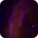 California Nebula mosaic bi-color,                                Eric Solís