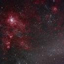Tarantula Nebula in LHaGB,                                Thorsten