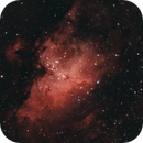 Messier 16 (The Eagle Nebula),                                rupeshvarghese