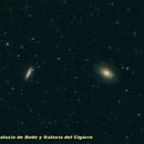 M 81 & M 82: Bode and Cigar Galaxies,                                José J. Chambó