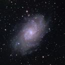 M33 from suburban site,                                nicholas disabatino