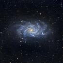 M33 - The Triangulum Galaxy,                                greenbbs