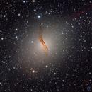 Centaurus A galaxy at Obstech El Sauce observatorio, Chile,                                Benjamin Lefevre