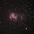 M20 Trifid Nebula,                                Shane Poage