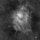 Lagoon Nebula - M8 (Luminance),                                Alan Santana