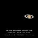 Titan and Saturn,                                Damien Cannane