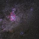 Carina Nebula Wide Field,                                Jonah Scott
