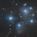 M45 - Amas des Pléiades,                                Anto