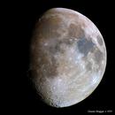 Mineral Moon mosaico 80 megapixel,                                Daniele Bonfiglio