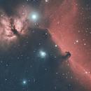 Horsehead and Flame Nebula,                                Bernhard Noichl