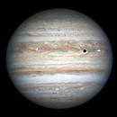 Io transit of Jupiter,                                Johnson Lo