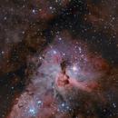 Keyhole Nebula,                                AstroEdy