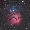 M20 Trifid Nebula,                                Michael Broyles