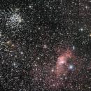 M52, Bubble Nebula and surroundings,                                Doc_HighCo