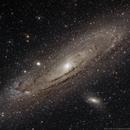 M31, M32(Arp168), & M110 - Andromeda Galaxy,                                Gary Imm