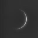 Venus crescent, ZWO ASI290MM, 20200525,                                Geert Vandenbulcke