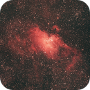 Adlernebelkomplex Messier (M) 16 im Sternbild Schwanz der Schlange (Serpens Cauda),                                astrobrandy