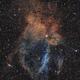 SH2-157 in SHO-RVB,  APO 80x480  /  ATIK ONE  /  AZEQ6,                                Pulsar59