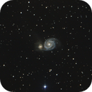 M51- First Image a year later,                                Earle Waghorne