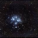 Pleiades like a Skull (M45),                                astrobrad
