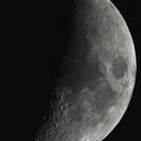 Lune croissante,                                PhotoMicQ