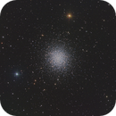 "M 13 - Great Globular Cluster in Hercules - ONTC 8"" - ASI1600MM,                                Rowland Archer"