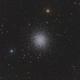 "M 13 - Great Globular Cluster in Hercules - ONTC 8"" - ASI1600MM,                                Rowland Archer"