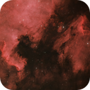 NGC 7000 & IC 5070 North America and Pelican nebulae,                                Barry Trudgian
