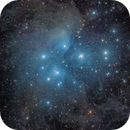 M45 and surrounding dust,                                1074j