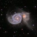 Whirlpool Galaxy (M51),                                Jeff Ridder