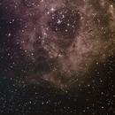 NGC2237 badly centered,                                Azaghal