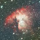 Pacman Nebula ngc 281,                                AsteoMik