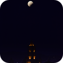 Eclipsed Moon above the Cathedral of Palermo,                                Angelo F. Gambino