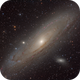 M31, the Great Galaxy of Andromeda,                                Jari Saukkonen