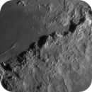 Moon: The cliffs of Mons Ampere and Mons Huygens,                                Ruediger