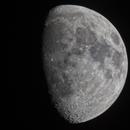 Waxing gibbous Moon,                                dearnst
