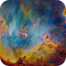 IC2944, IC2948 (Running Chicken Nebula) [NB],                                Dean Carr