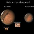 Dusty Mars apparition 2018,                                marsbymars