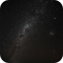 Milky Way  and clouds of Magallanes from Atacama (Chile),                                C.A.L. - Astroburgos