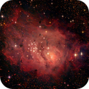 Lagoon nebula (M8) - Close-up,                                phoenixfabricio07