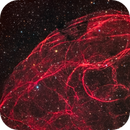 Spaghetti Nebula (Sh2-240, Simeis 147, SNR G180. 0-01.7),                                Gary Lopez