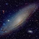 M31 New Data 100s Images Takahashi 180 ED,                                jerryyyyy