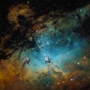 M16 - Eagle Nebula,                                Caroline Berger