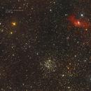NGC 7635 Bubble Nebula & Messier 52,                                MRPryor