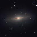 Little Sombrero Galaxy in Pegasus,                                Ian Gorin