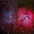 M20 - Trifid Nebula,                                Hin Hua Remote Astronomy Observation Centre