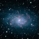 M 33 - Triangulum Galaxy in LRGBHa,                                Crazy Owl Photogr...