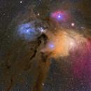 Rho Ophiuchi Nebula Complex,                                johnnywang