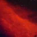 NGC 1499 - California Nebula,                                David Andra
