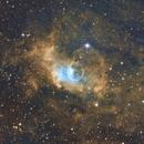 Bubble Nebula SHO Hubble Palette  NGC 7635/SH2-162,                                Brandon Tackett